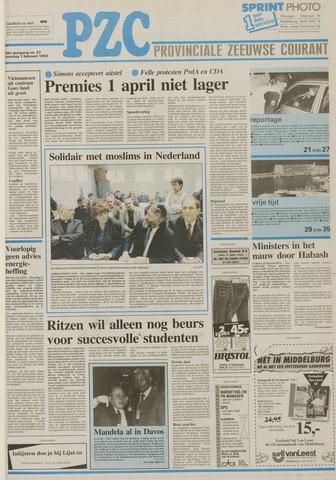 Provinciale Zeeuwse Courant 1992-02-01
