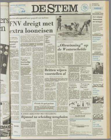 de Stem 1982-04-21