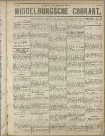 Middelburgsche Courant 1922-08-25