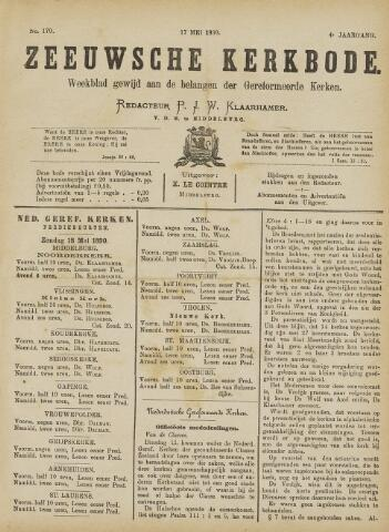 Zeeuwsche kerkbode, weekblad gewijd aan de belangen der gereformeerde kerken/ Zeeuwsch kerkblad 1890-05-17