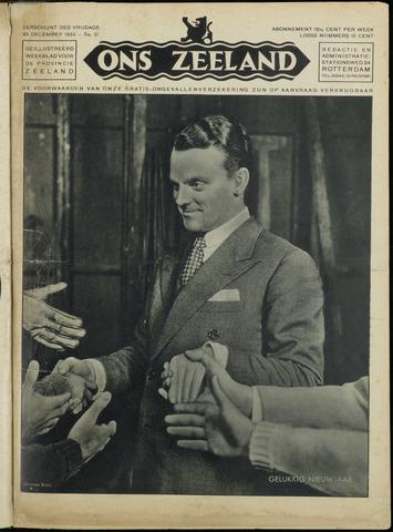 Ons Zeeland / Zeeuwsche editie 1934-12-28