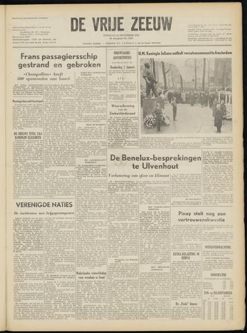 de Vrije Zeeuw 1952-12-23