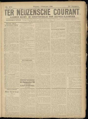Ter Neuzensche Courant. Algemeen Nieuws- en Advertentieblad voor Zeeuwsch-Vlaanderen / Neuzensche Courant ... (idem) / (Algemeen) nieuws en advertentieblad voor Zeeuwsch-Vlaanderen 1929-02-01