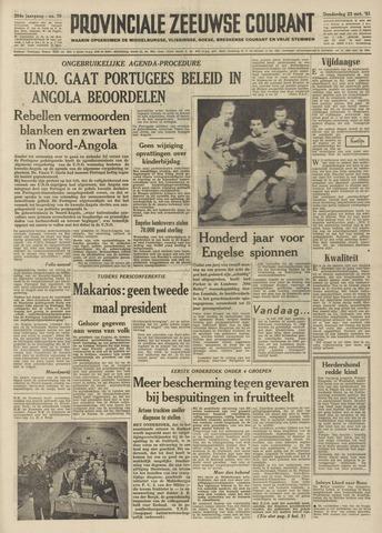 Provinciale Zeeuwse Courant 1961-03-23