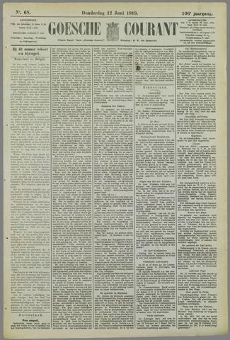 Goessche Courant 1919-06-12