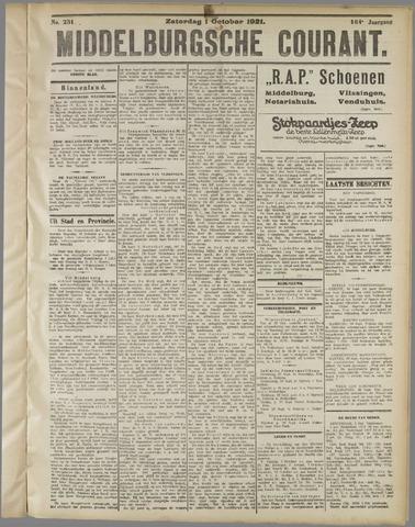 Middelburgsche Courant 1921-10-01