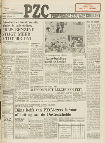 Provinciale Zeeuwse Courant 1974-02-23