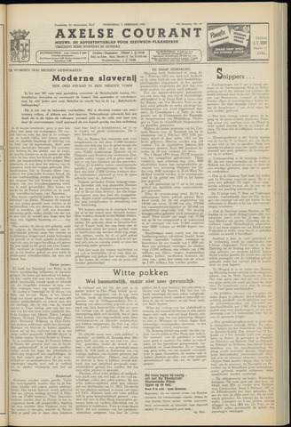 Axelsche Courant 1954-02-03