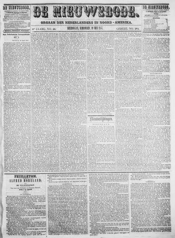 Sheboygan Nieuwsbode 1857-05-19