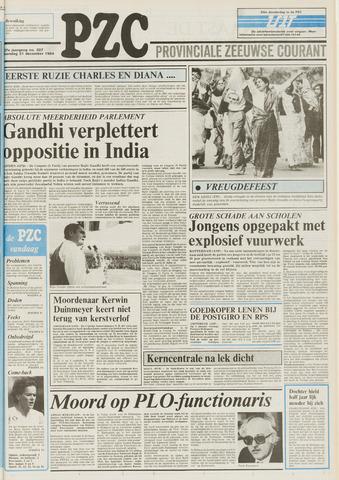 Provinciale Zeeuwse Courant 1984-12-31