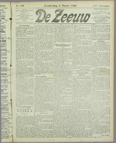De Zeeuw. Christelijk-historisch nieuwsblad voor Zeeland 1920-03-04
