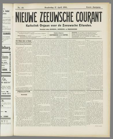 Nieuwe Zeeuwsche Courant 1905-04-27