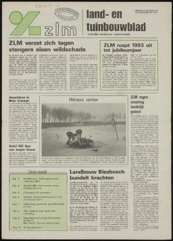 Zeeuwsch landbouwblad ... ZLM land- en tuinbouwblad 1991-02-08
