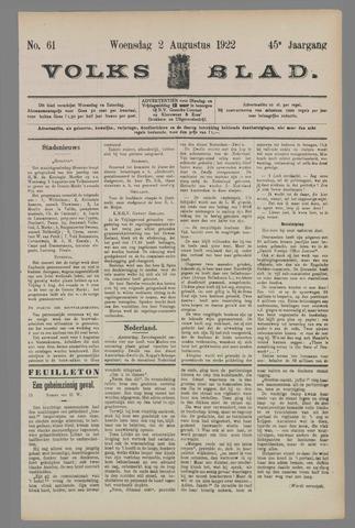 Volksblad 1922-08-02