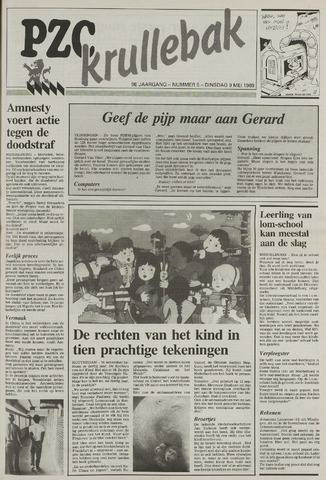 Provinciale Zeeuwse Courant katern Krullenbak (1981-1999) 1989-05-09