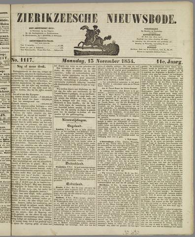 Zierikzeesche Nieuwsbode 1854-11-13
