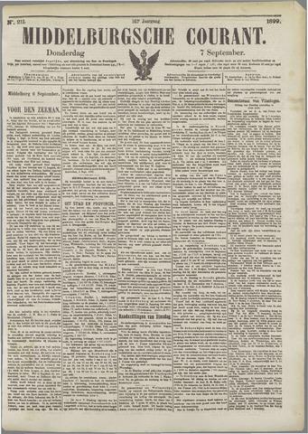 Middelburgsche Courant 1899-09-07