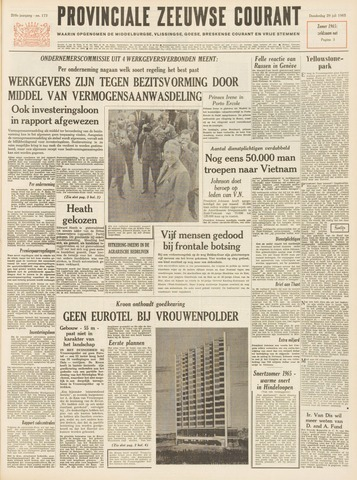 Provinciale Zeeuwse Courant 1965-07-29