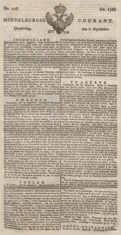 Middelburgsche Courant 1768-09-08