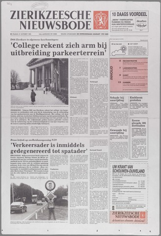 Zierikzeesche Nieuwsbode 1995-10-27