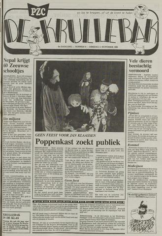 Provinciale Zeeuwse Courant katern Krullenbak (1981-1999) 1986-11-11