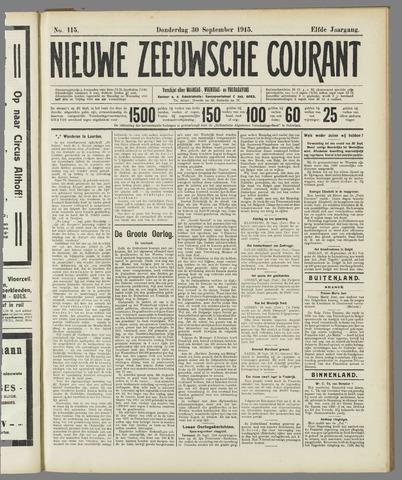 Nieuwe Zeeuwsche Courant 1915-09-30
