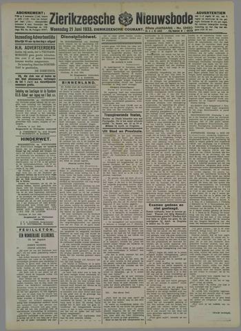 Zierikzeesche Nieuwsbode 1933-06-21