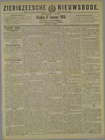 Zierikzeesche Nieuwsbode 1913-01-17
