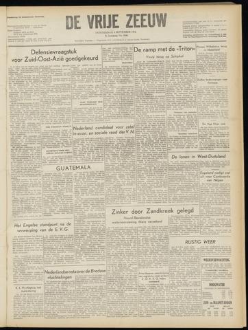 de Vrije Zeeuw 1954-09-09