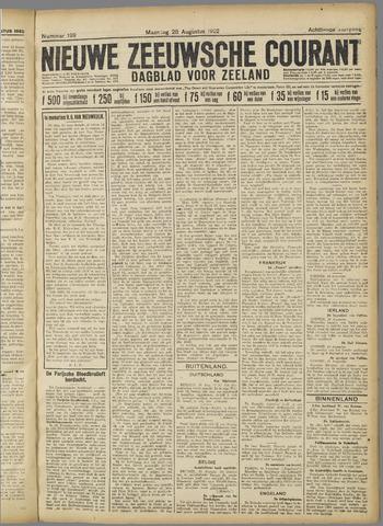 Nieuwe Zeeuwsche Courant 1922-08-28
