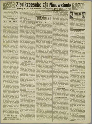 Zierikzeesche Nieuwsbode 1924-12-08