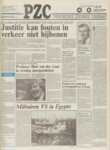 Provinciale Zeeuwse Courant 1981-11-11