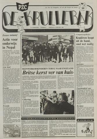 Provinciale Zeeuwse Courant katern Krullenbak (1981-1999) 1985-01-08
