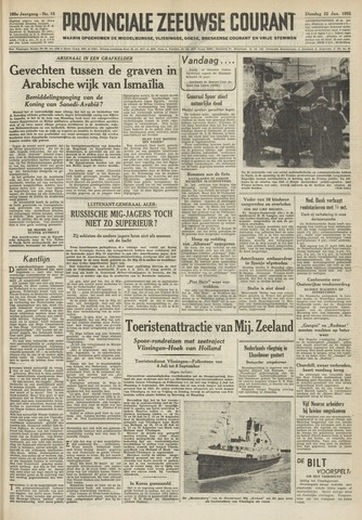Provinciale Zeeuwse Courant 1952-01-22