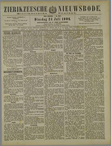 Zierikzeesche Nieuwsbode 1906-07-24
