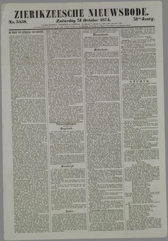 Zierikzeesche Nieuwsbode 1874-10-31