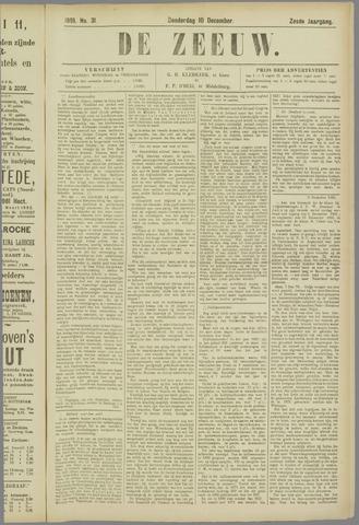 De Zeeuw. Christelijk-historisch nieuwsblad voor Zeeland 1891-12-10