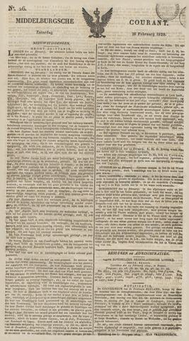 Middelburgsche Courant 1829-02-28