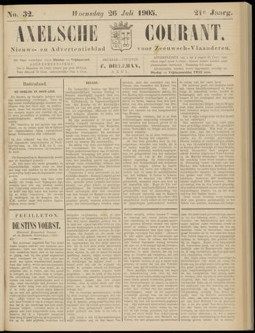 Axelsche Courant 1905-07-26