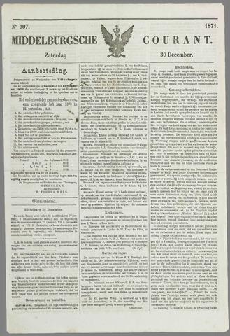 Middelburgsche Courant 1871-12-30