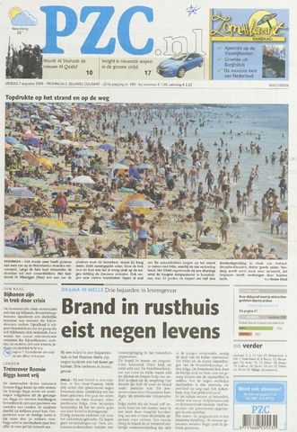 Provinciale Zeeuwse Courant 2009-08-07
