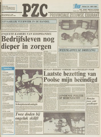 Provinciale Zeeuwse Courant 1981-12-29