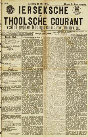 Ierseksche en Thoolsche Courant 1915-05-15