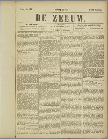De Zeeuw. Christelijk-historisch nieuwsblad voor Zeeland 1890-07-22