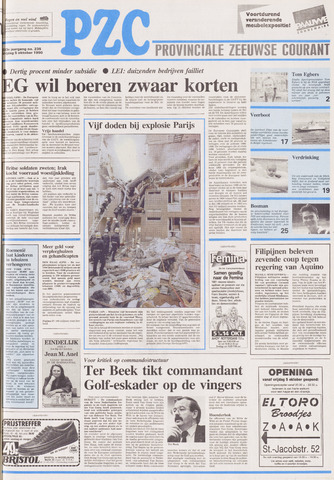 Provinciale Zeeuwse Courant 1990-10-05