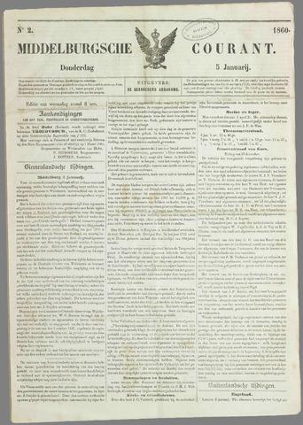 Middelburgsche Courant 1860-01-05