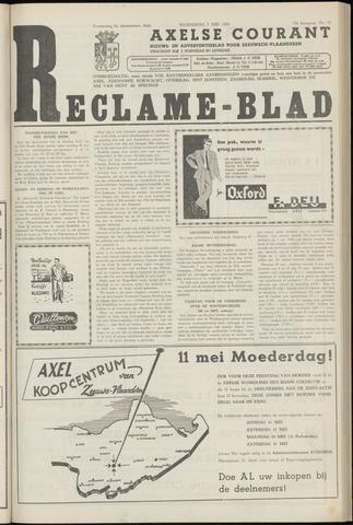 Axelsche Courant 1958-05-07
