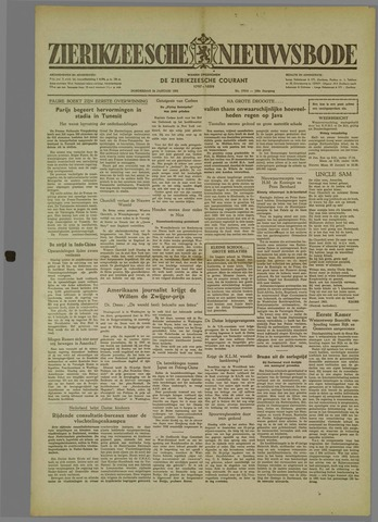 Zierikzeesche Nieuwsbode 1952-01-24