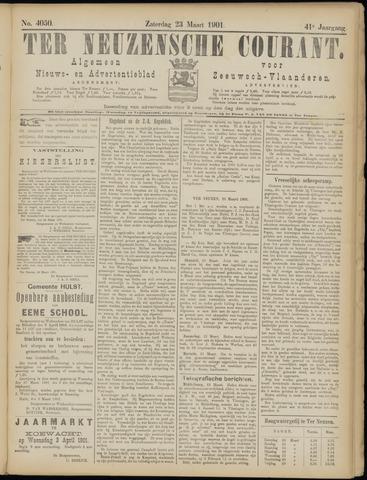 Ter Neuzensche Courant. Algemeen Nieuws- en Advertentieblad voor Zeeuwsch-Vlaanderen / Neuzensche Courant ... (idem) / (Algemeen) nieuws en advertentieblad voor Zeeuwsch-Vlaanderen 1901-03-23