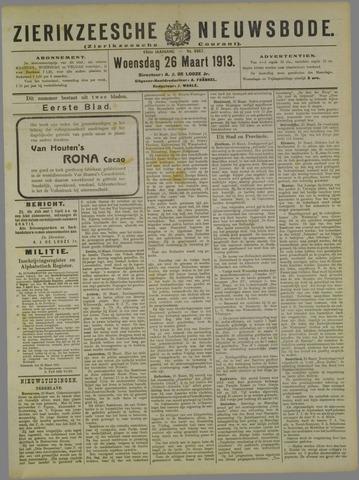 Zierikzeesche Nieuwsbode 1913-03-26